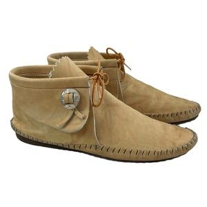 Taos Leather Moccasins